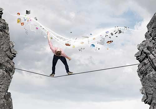 Balance im Unternehmen